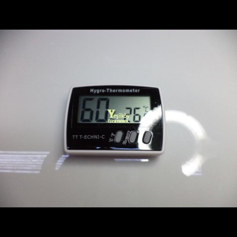 Termometre + Nem Ölçer