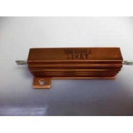 100R 50w metal direnç