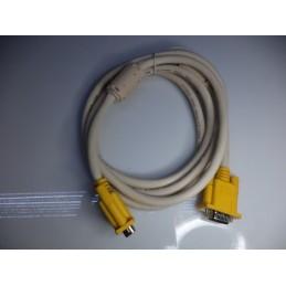 2m vga kablo erkek erkek