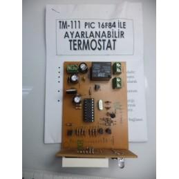 ayarlanabilir termostat devresi