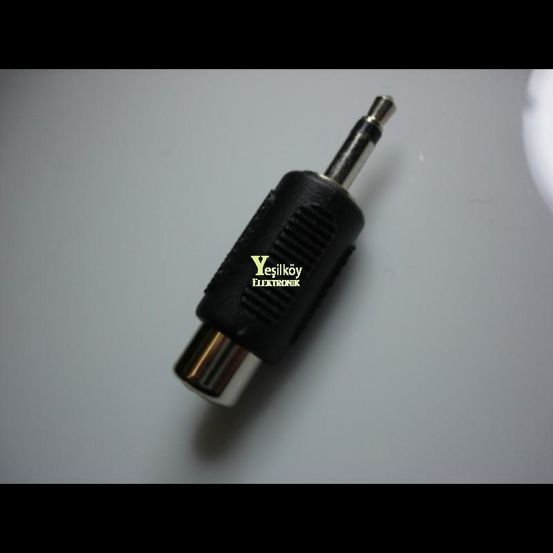 RCA - 3.5mono Jak Dönüştürücü