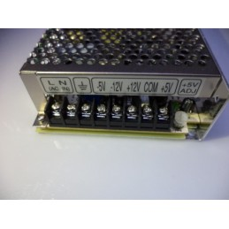 meanwell +5v -5V +12v -12v adaptör