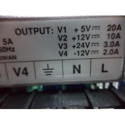 Meanwell +5 +12 +24 -12v adaptör