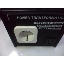 1200w 110-220 çevirici adaptör