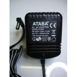 9v AC adaptör 1000ma