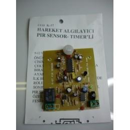 Pir Sensör Devresi hareket algılayıcı