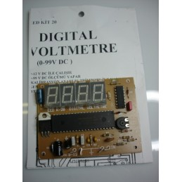 digital voltmetre 0-99v dc