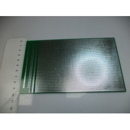 10x16 delikli çift yüzlü kaliteli plaket