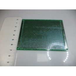 7x9 delikli çift yüzlü kaliteli plaket