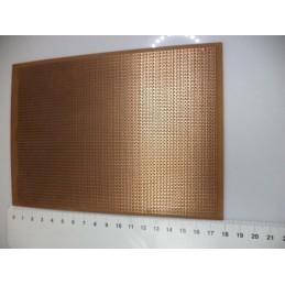 Delikli 13x17cm delikli plaket