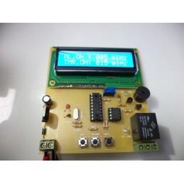 LCDli alarm saat derece
