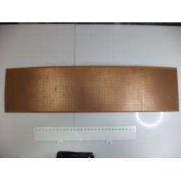 Delikli 13x50cm Plaket