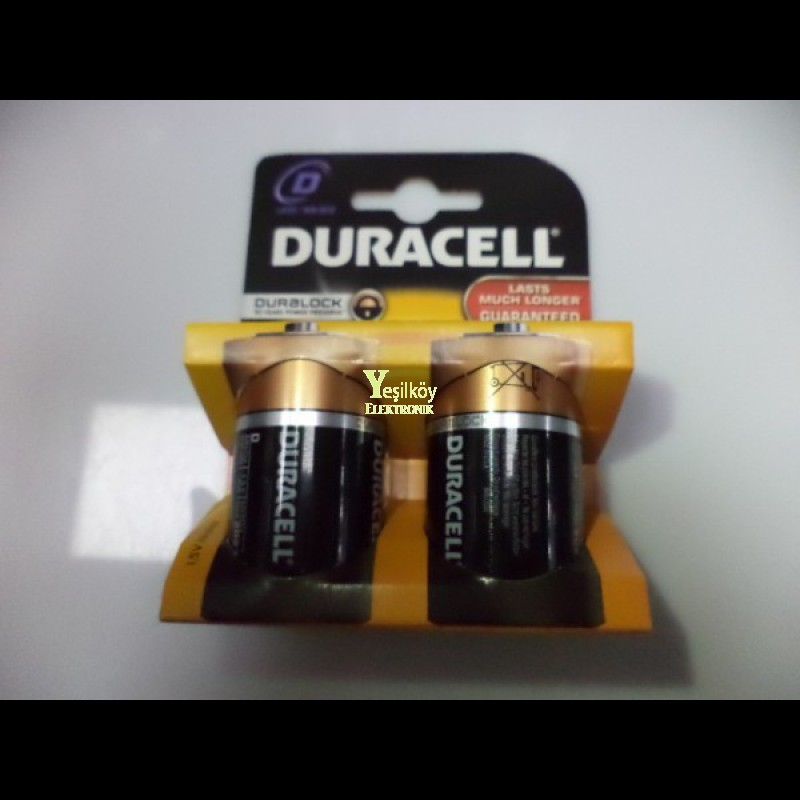 Duracell D size Pil