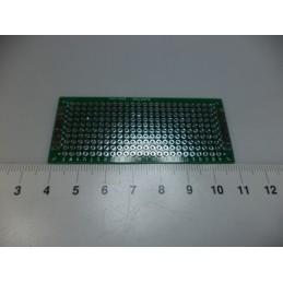 3x7 çift yüzlü delikli pertinaks