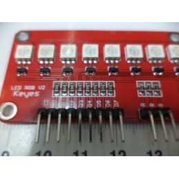 8 ledli RGB module