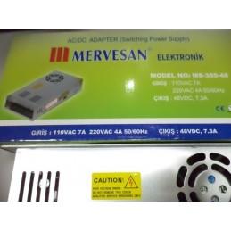 48v 7.3A 350watt Mervesan