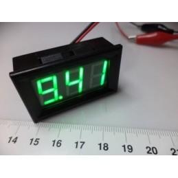 3-30v DC yeşil digital voltmetre