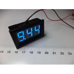 3-30v DC mavi digital voltmetre