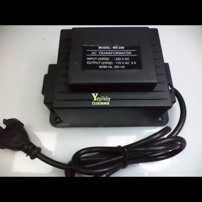 250w 110-220v dönüştürücü