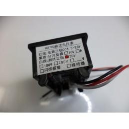 0-30v 3kablolu voltmetre