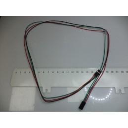 70cm 3lü dişi dişi kablo