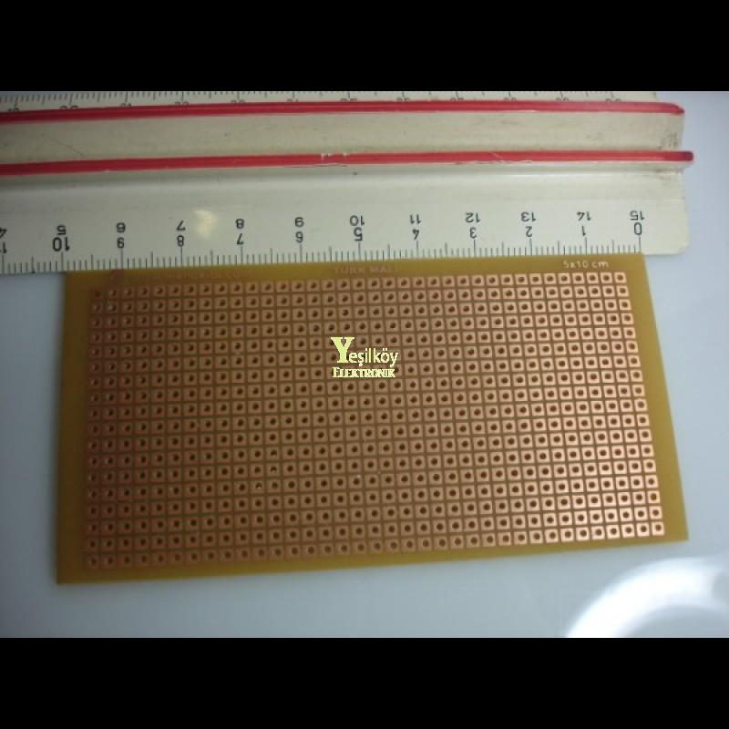 Delikli 5cmX10cm Plaket