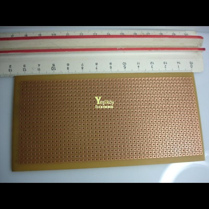 Delikli 6cmX13cm Plaket