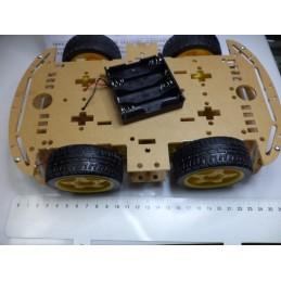 4wd Robot Şasesi