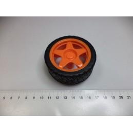 65mm turuncu tekerlek