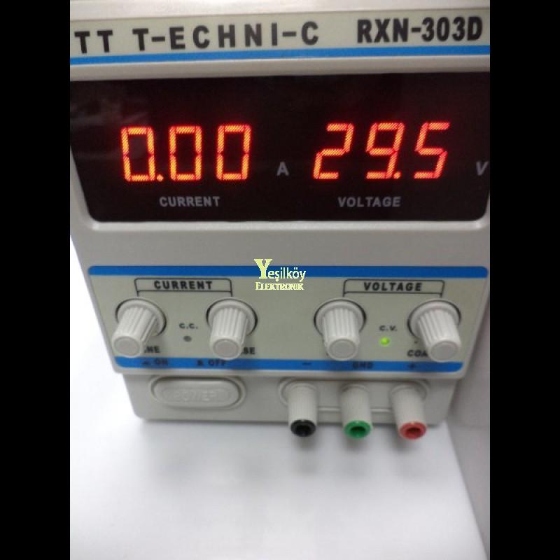 3A 0-30v Güç Kaynağı RXN-303