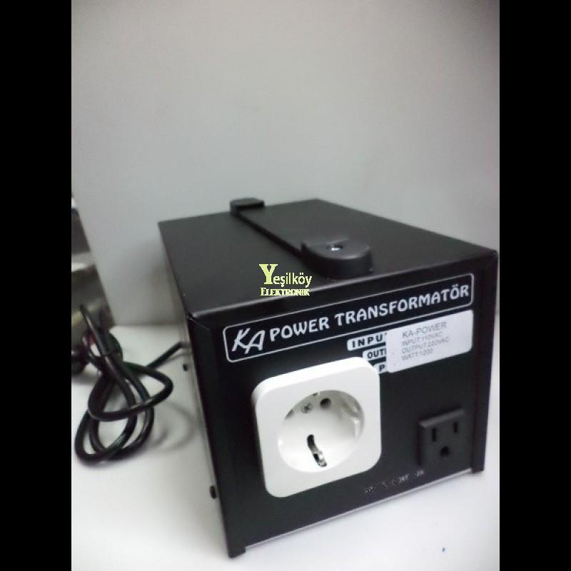 1200w 110v 220v Çevirici Adaptör