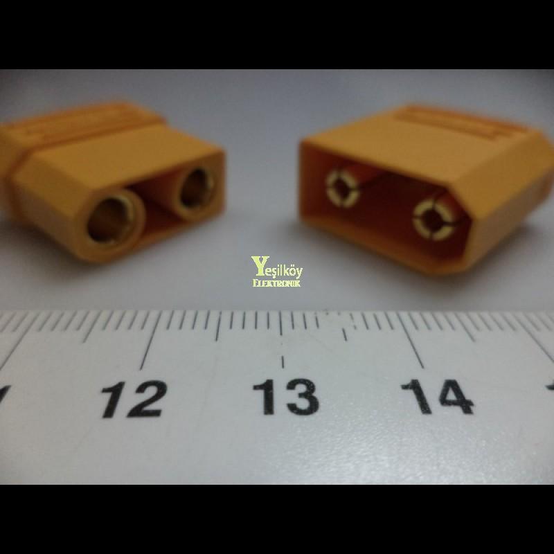 xt90 konnektör erkek dişi takım