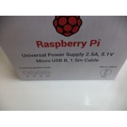 Orjinal Raspberry Pi Adaptörü 5.1v 2.5A