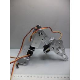 Robot Kol 3 Eksenli 3 Servo Motorlu