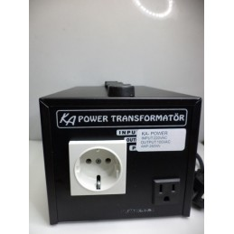 100volt 2500watt Japonya Dönüştürücü