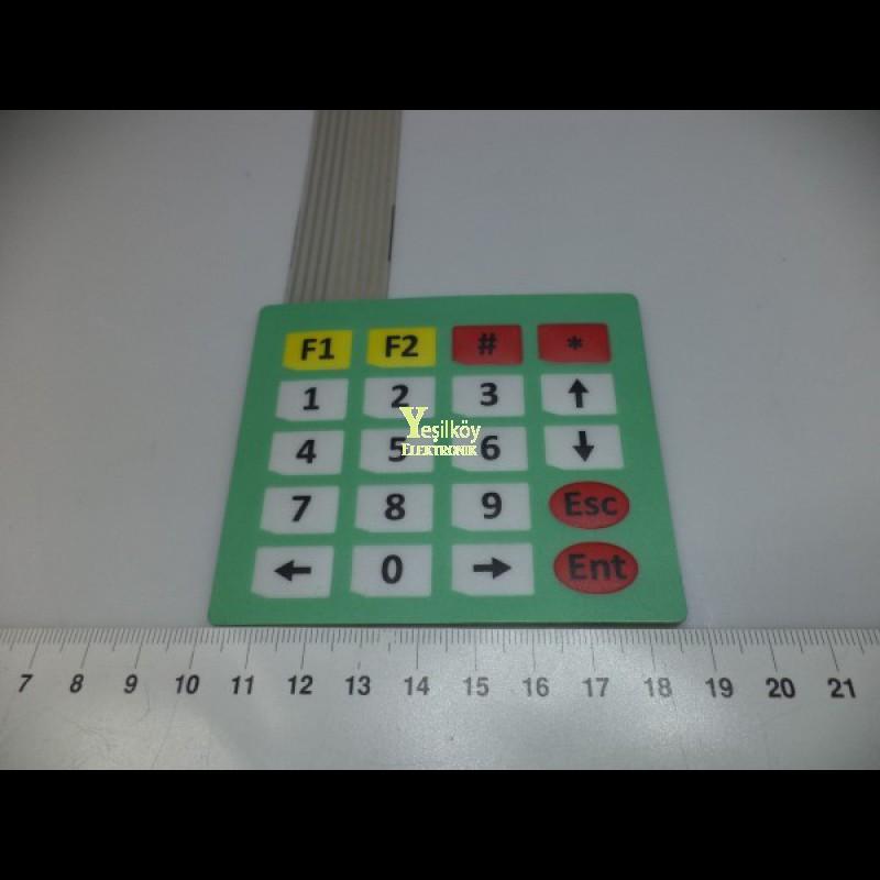 4x5 Keypad
