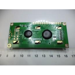 2x16 Yeşil LCD 1602