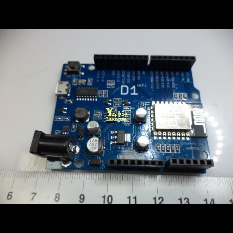 Wemos D1 Wifi Esp8266 Geliştirme Kartı