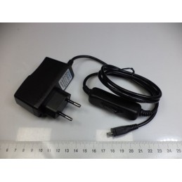 Raspberry Pi Adaptörü 5.1v 2.5A Anahtarlı