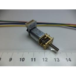 N20 6v 500RPM Enkoderli DC Motor