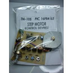 Pic16F84 ile Step Motor Kontrol Devresi