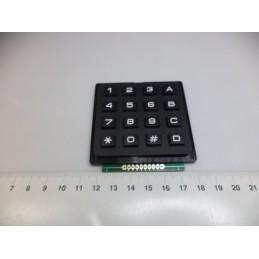 4x4 Keypad Siyah