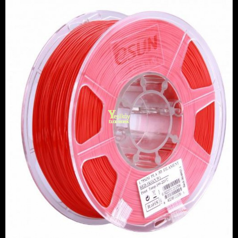 Esun 1.75mm Gri PLA Plus Filament 1kg