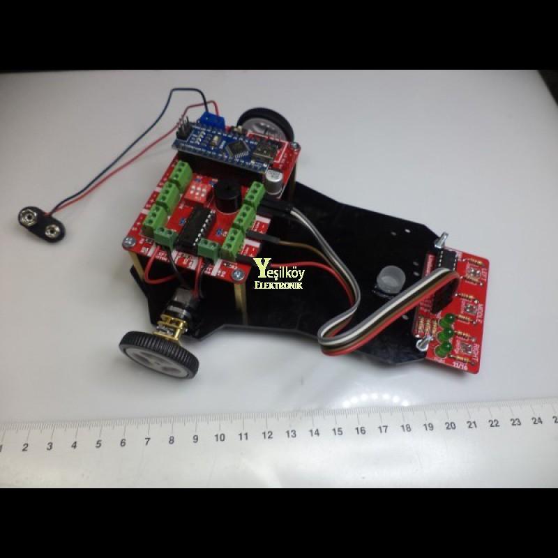 Çizgi izleyen Robot Kiti