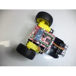 Engelden Kaçan Robot Kiti Ultrasonic Sensörlü