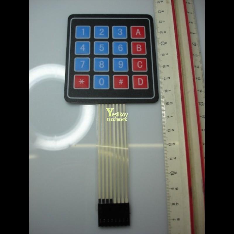 4x4 keypad tuş takımı