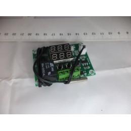 w1219 Çift Digital Ekranlı Termostat Devresi