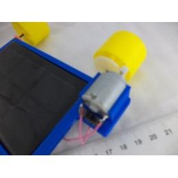 Güneş Panelli Solar Araba 2