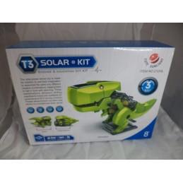 Güneş Enerjili Kendin Yap Robot Seti