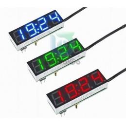 Saat Modülü Termometre ve Voltaj Özellikli